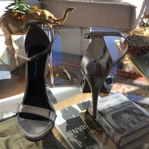Shoes - Brand new silver platforms
